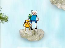 Finn si Jake Sarituri la Cascada