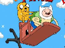 Finn si Jake Sarituri pe Nori