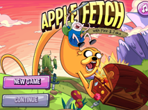 Finn and Jake Apple Fetch