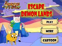 Adventure Time Escape Demon Lands