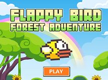 Flappy Bird Aventura in Padure