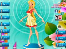 Flora Dress Up