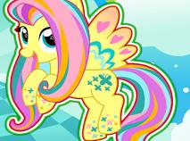 Fluttershy Rainbow Power Style