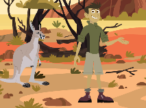 Wild Kratts Kangaroo Kick-Box