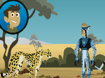 Wild Kratts and the Cheetah Races