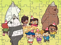 We Bare Bears Party Puzzle