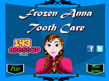 Frozen Anna Tooth Care