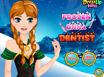 Frozen Ana la Dentist