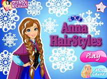 Frozen Ana la Hairstylist