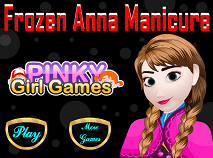 Frozen Anna Manicure