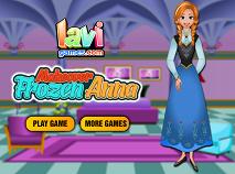 Frozen Anna Machiaj
