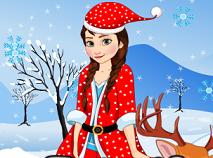 Frozen Anna e Mos Craciun