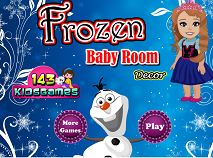 Frozen Baby Room Decor
