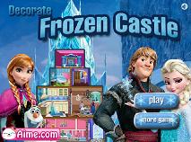 Frozen Decoreaza Castelul