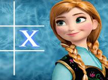 Anna Frozen Fever Tic Tac Toe
