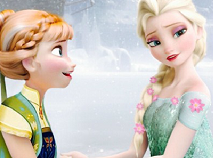 Frozen Fever Elsa and Anna Puzzle