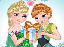 Frozen Fever cu Elsa si Anna de Imbracat