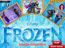 Frozen Puzzle Mix Up