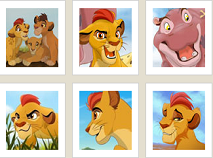 The Lion Guard Memory Game