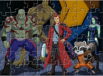 Gardienii Galaxiei Puzzle