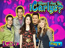 Gaseste Personajele iCarly