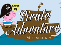 George Pig Pirate Adventure Memory