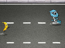 Gumball Invisible Car Chase