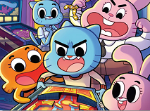 Gumball Family Playing Puzzle