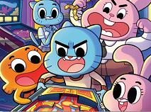 Gumball si Familia la Arcade Puzzle