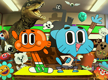 Gumball and Friends at School Puzzle