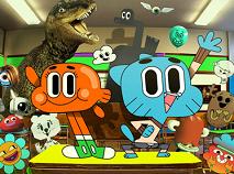 Gumball si Prietenii la Scoala Puzzle