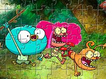 Harvey si Prietenii Puzzle