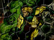 Hulk Nebunia Puzzle