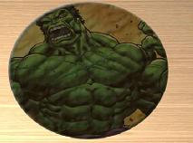 Hulk Puzzle Rotund