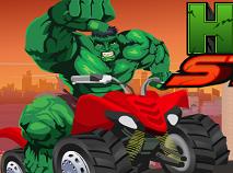 Hulk cu Atv-ul Cascadorii