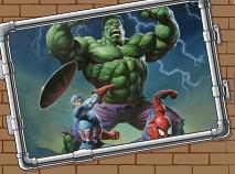 Hulk With Friends Photo Mess