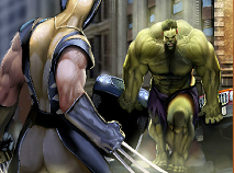 Wolverine Vs Hulk Sort My Tiles