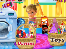 Inside Out Dresses and Toys Washing