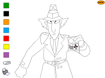 Inspector Gadget Colouring