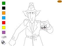 Inspector Gadget de Colorat