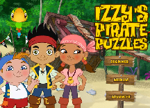 Jake si Izzy Puzzle