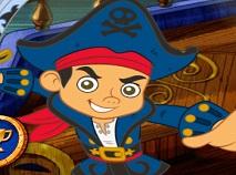 Jake si Piratii Lupta pe Mare
