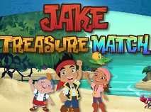 Jake si Piratii Potriviri de Comori