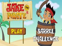 Jake si Piratii Provocarea cu Butoaie