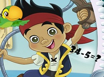 Jake and the Neverland Pirates Math Quiz