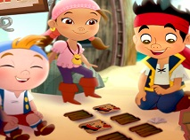 Jake and the Neverland Pirates Memory Game