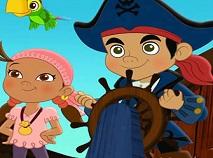 Jake si Piratii din Tara de Nicaieri Diferente