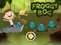 Justin Time Froggy Bog