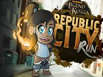 The Legend of Korra Republic City Run