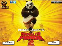 Kung Fu Panda 2 Obiecte Ascunse